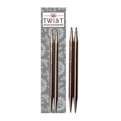 ChiaoGoo Interchangeable knitting needles TWIST SS Lace Tips 5'' (13cm)