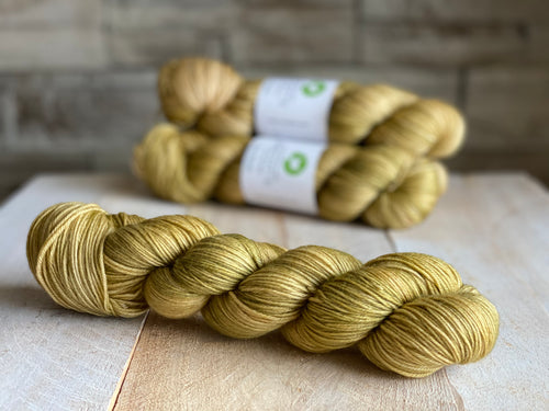 Bis-sock yarn Ambre hand-dyed yarn | 100g or 50g mini skein size