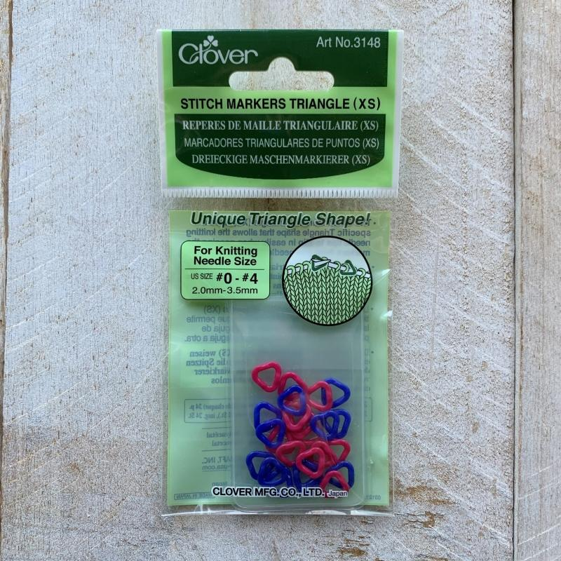CLOVER Triangular stitch markers 3148 - 3149 - 3150