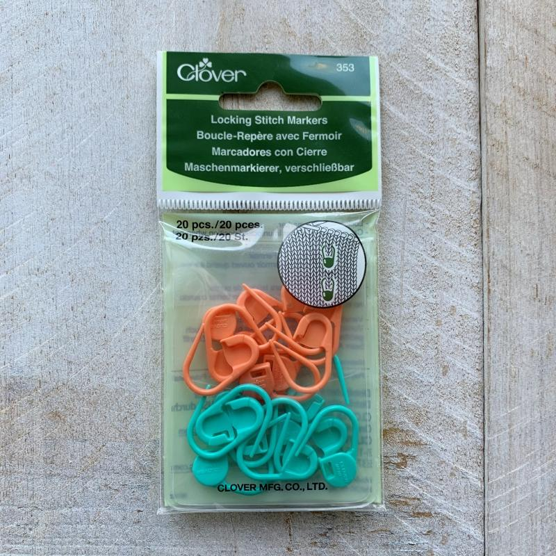 CLOVER Openable stitch markers 353