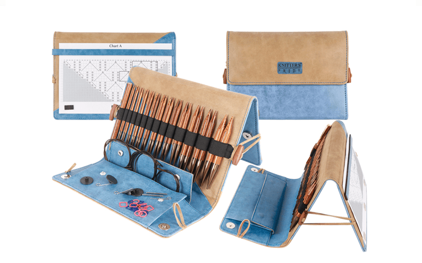 "Knitter's Pride - ""Ginger"" Interchangeable Deluxe Set - Ecofriendly Wooden Needle Kit"
