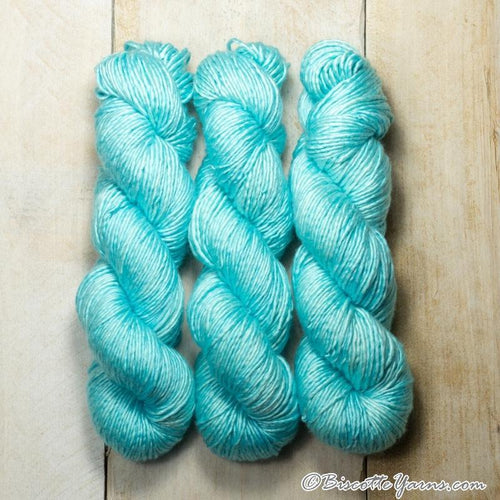 Albus - Merino and Silk yarn AQUA