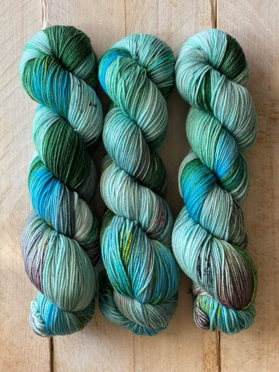 Bis-Sock BORA BORA | hand-dyed Speckled sock yarn | 100g (2x50g) / 50g (mini skein)