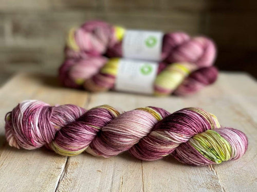 Bis-Sock GOOD DAY SUNSHINE | hand-dyed Speckled sock yarn | 100g (2x50g) / 50g (mini skein)