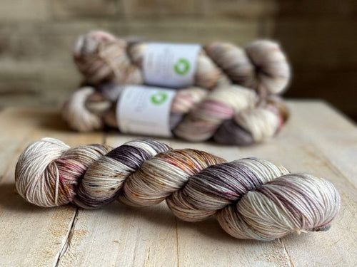 Bis-Sock HARMONIE | hand-dyed Speckled sock yarn | 100g (2x50g) / 50g (mini skein)