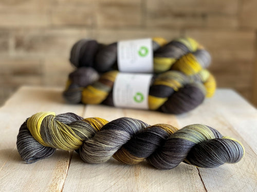 Bis-Sock hand-dyed sock yarn ♥ Variegated | Menthe Poivree
