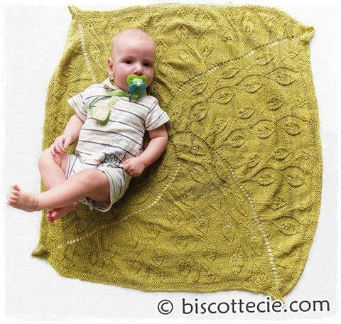 Knitting design Baby blanket | Beanstalk