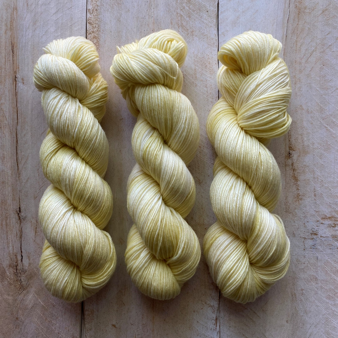 Bis-sock yarn Limonade hand-dyed yarn | 100g or 50g mini skein size