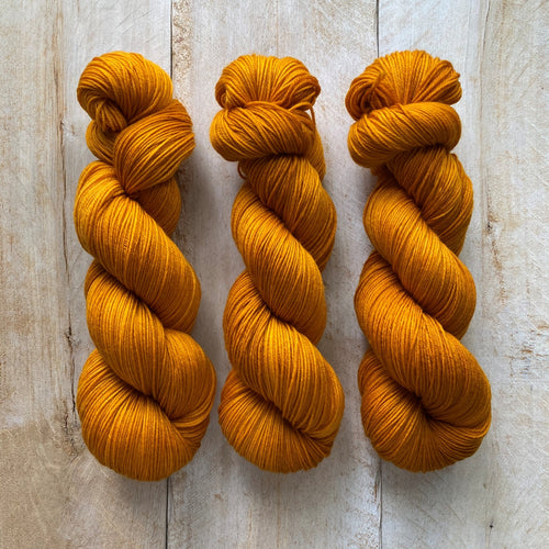 Bis-sock yarn Vitamine C hand-dyed yarn | 100g or 50g mini skein size