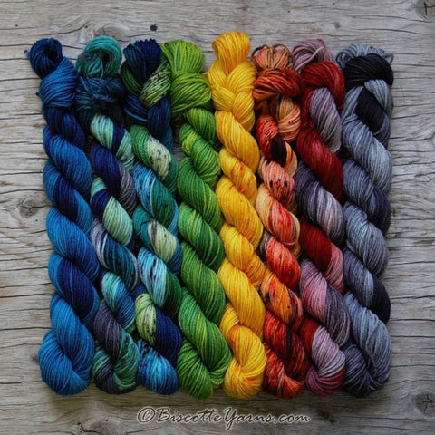 Bis-sock yarn hand-dyed yarn | LIMITED EDITION #1900