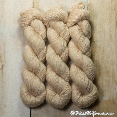 Sparkling Yarn Hand-Dyed 1 ply | Fizwizbiz BISQUE