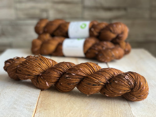 Tweed Sock Yarn | Sirius CARAMEL