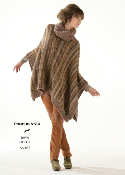 Free Cheval Blanc pattern - Women's poncho cat.13-20