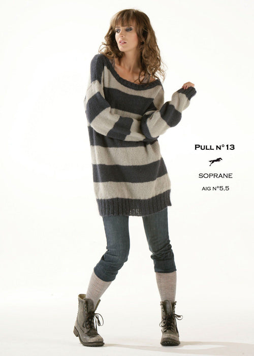 Free Cheval Blanc pattern - Women's sweater cat.13-13