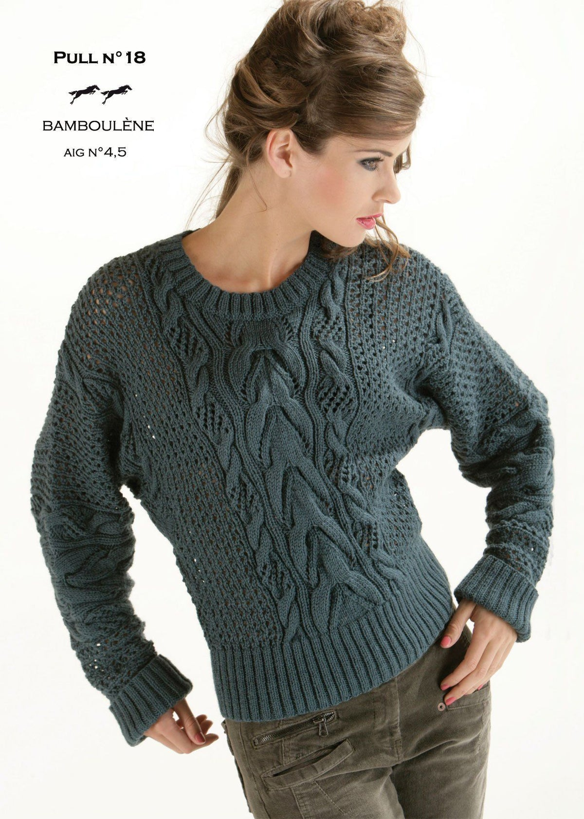 Free Cheval Blanc pattern - Women's sweater cat.13-18