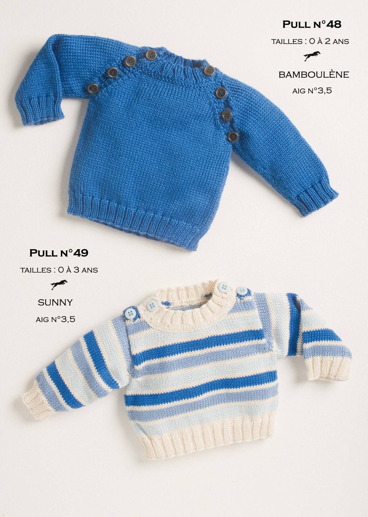 Free Cheval Blanc pattern - Sweater for baby cat.14-48