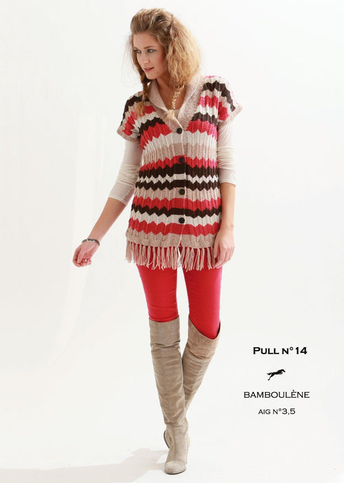 Free Cheval Blanc pattern - Women's vest cat.21-14