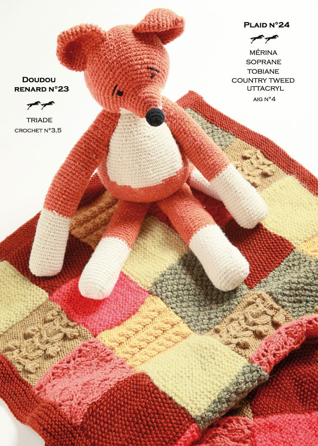 Free Cheval Blanc pattern - Plaid cat.21-24