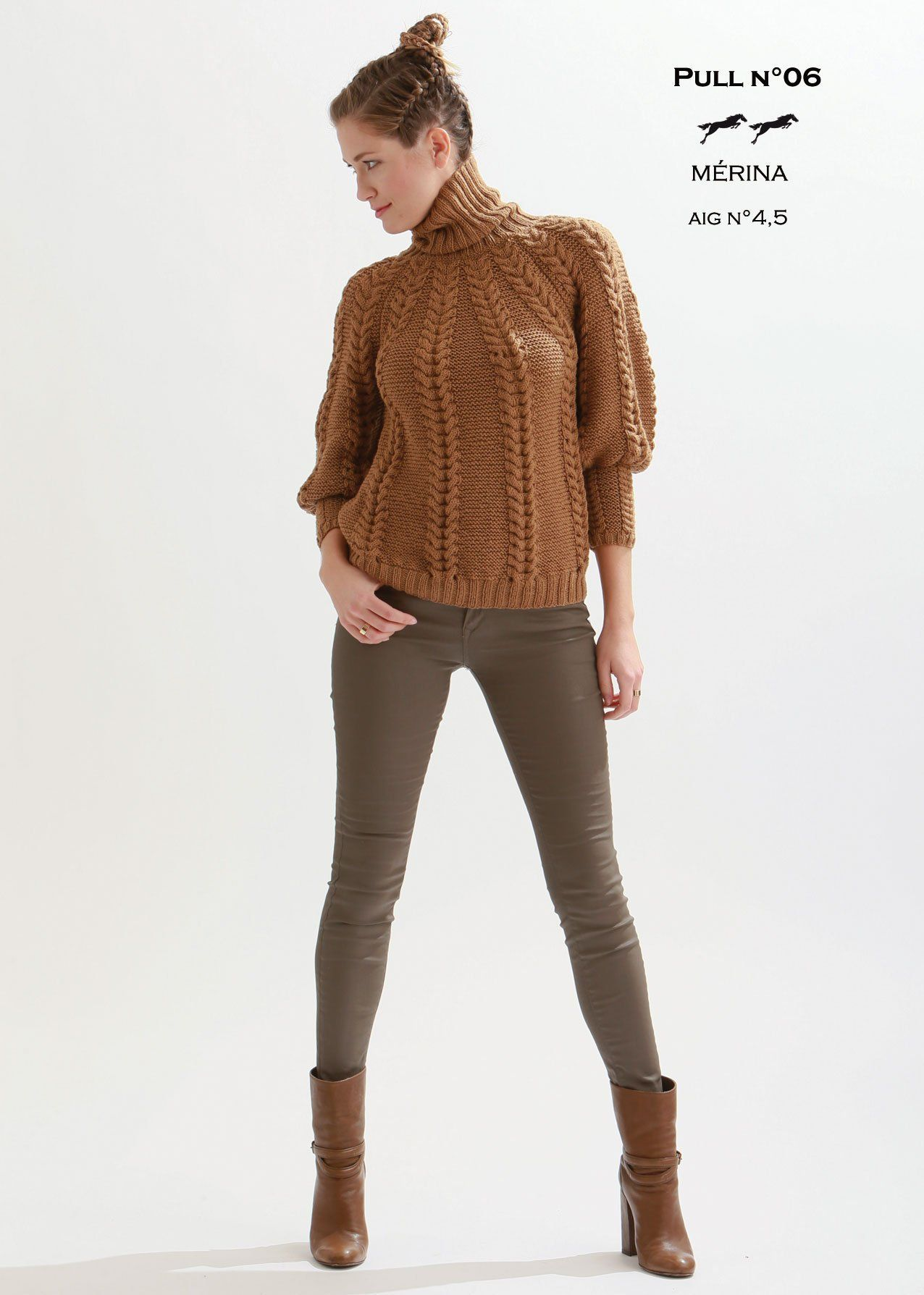 Free Cheval Blanc pattern - Women's sweater cat.21-06