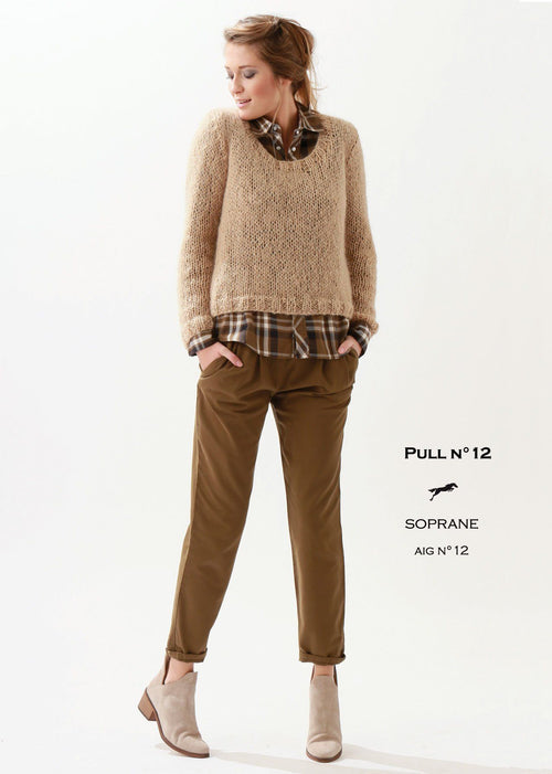 Free Cheval Blanc pattern - Women's sweater cat.21-12