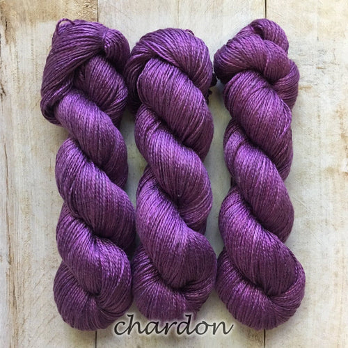 CHARDON by Louise Robert Design | ALGUA MARINA hand-dyed semi-solid yarn