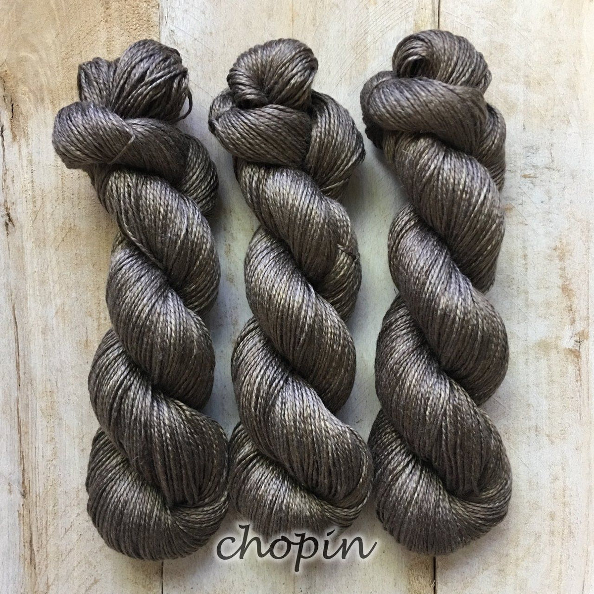 CHOPIN by Louise Robert Design | ALGUA MARINA hand-dyed semi-solid yarn