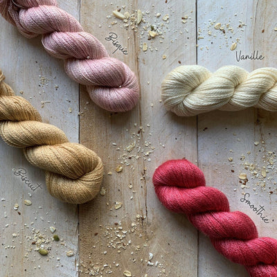 CashSilk Lace yarn Biscuit