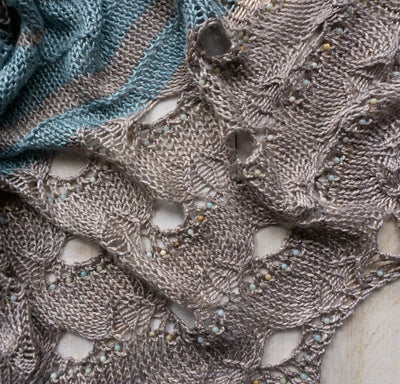Paon d'Or Shawl | Knitting Pattern | 2020 Edition