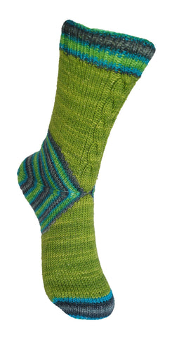The Cheshire Cat Sock Pattern