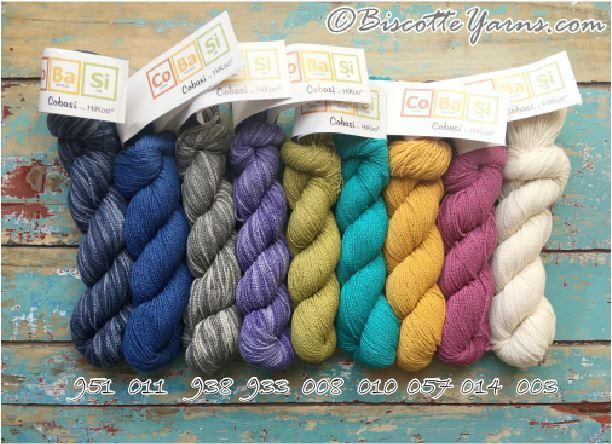 Cobasi Sock Yarn Wool-Free Yarn by Hikoo