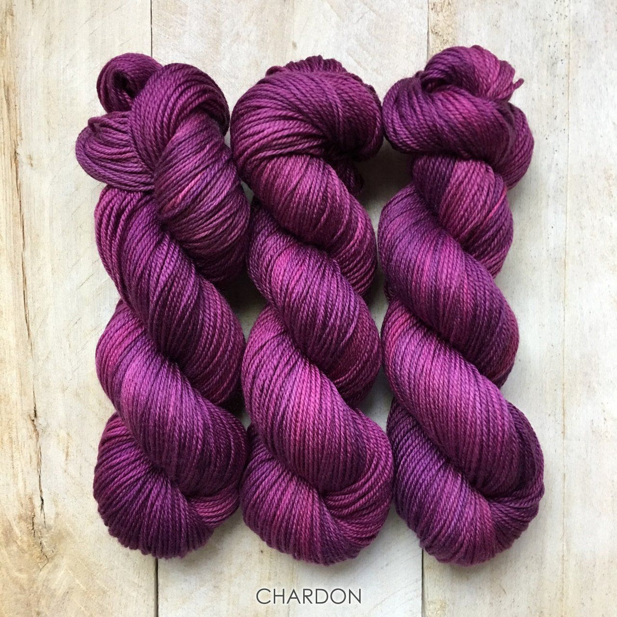 CHARDON by Louise Robert Design | DK PURE hand-dyed semi-solid yarn