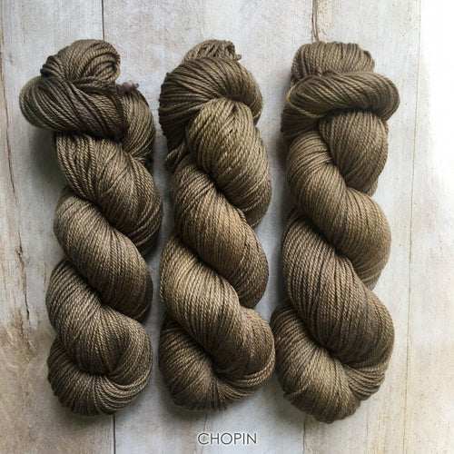 CHOPIN by Louise Robert Design | DK PURE hand-dyed semi-solid yarn