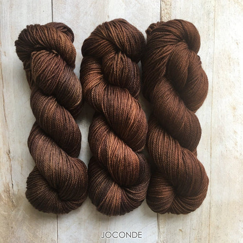 JOCONDE by Louise Robert Design | DK PURE hand-dyed semi-solid yarn