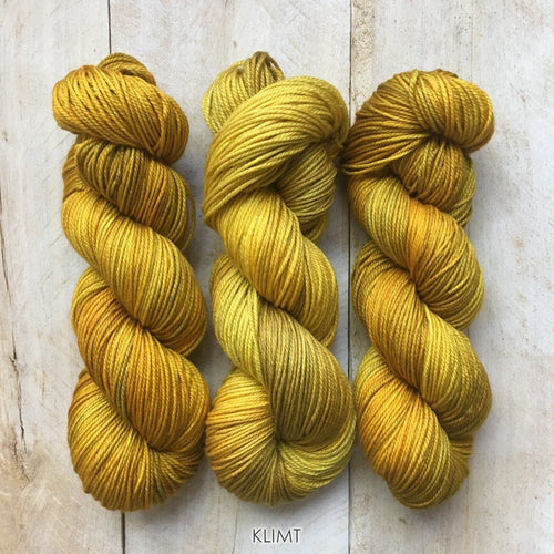 KLIMT by Louise Robert Design | DK PURE hand-dyed semi-solid yarn
