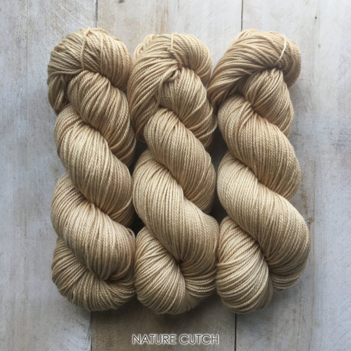 CUTCH by Louise Robert Design | DK PURE hand-dyed yarn, natural dyes