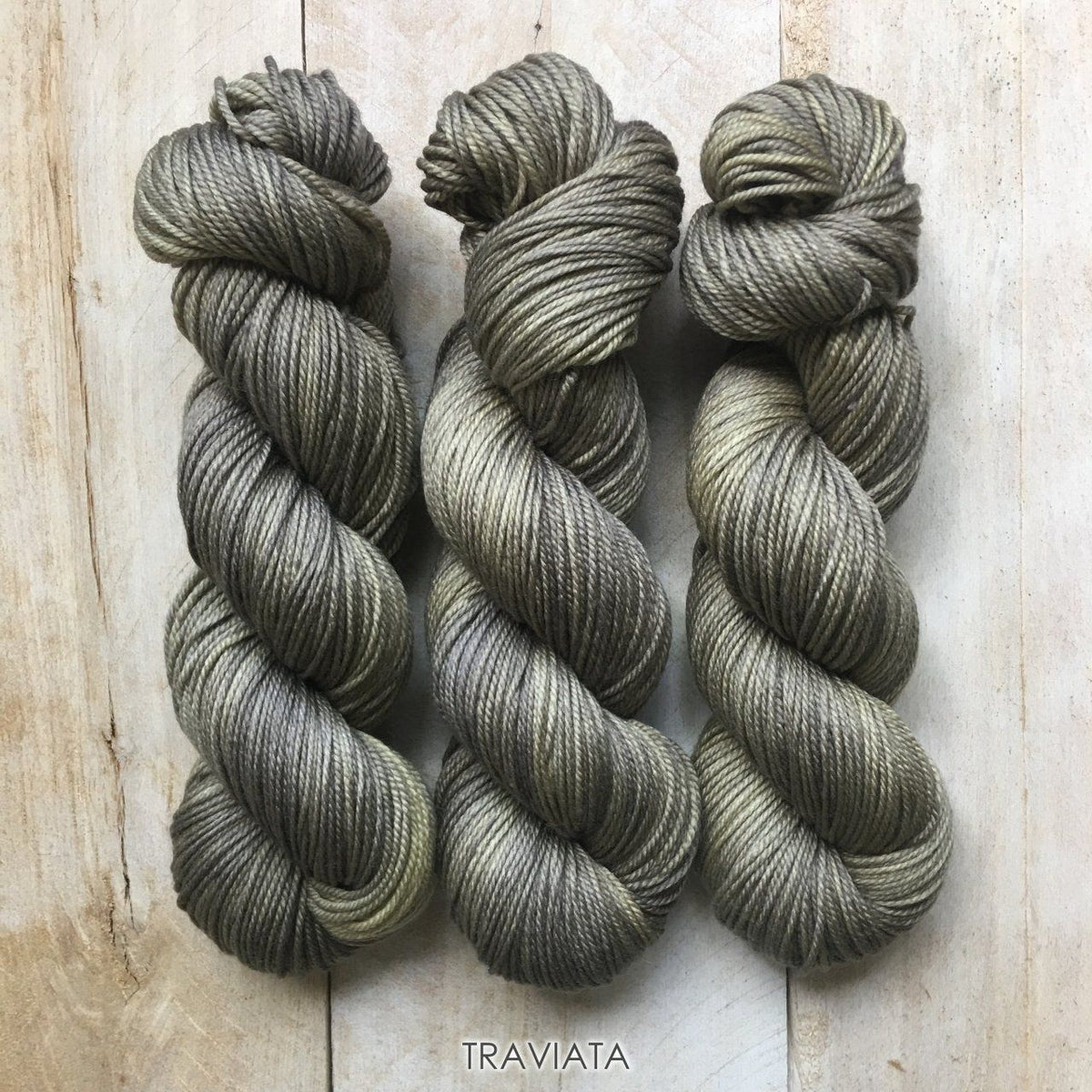 TRAVIATA by Louise Robert Design | DK PURE hand-dyed semi-solid yarn