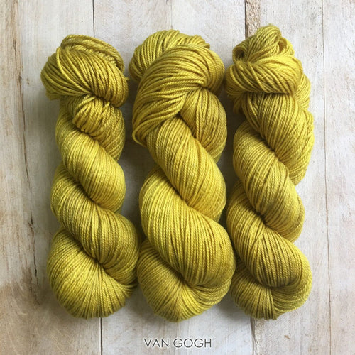 VAN GOGH by Louise Robert Design | DK PURE hand-dyed semi-solid yarn