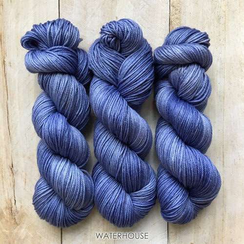 WATERHOUSE by Louise Robert Design | DK PURE hand-dyed semi-solid yarn