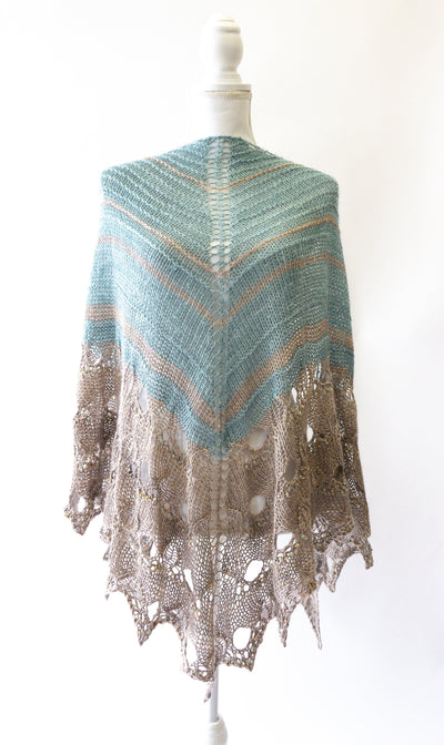 """Paon d'Or"" Shawl 