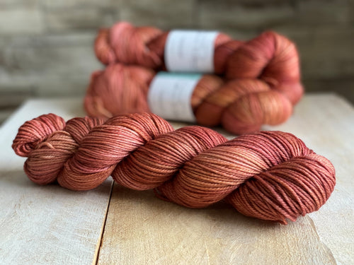EPIC by Louise Robert Design | DK PURE hand-dyed semi-solid yarn