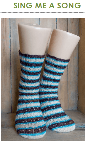 7 Socks | A Collection of Self-Striping Sock Patterns | Ebook