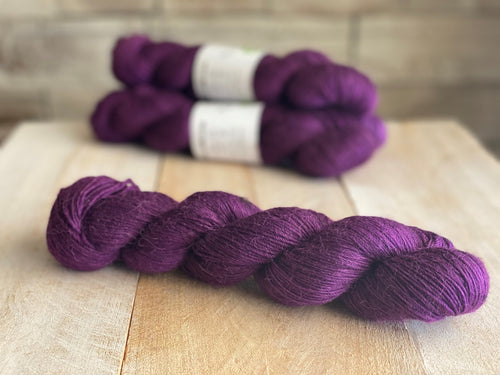 FLAMEL ♥ Alpaca sock yarn - PURPLE