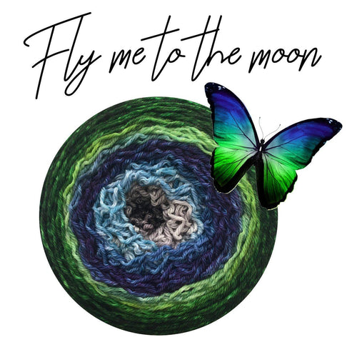 Bis-Sock Metamorph Fly me to the moon | 100g