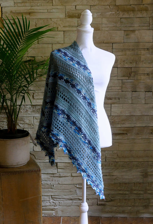 Forest Choir ♥ Crochet Shawl Pattern