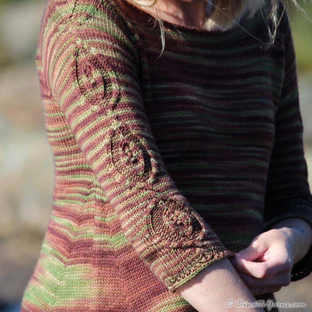 Grounded - free sweater pattern