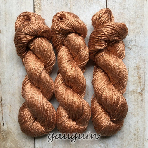 GAUGUIN by Louise Robert Design | ALGUA MARINA hand-dyed semi-solid yarn
