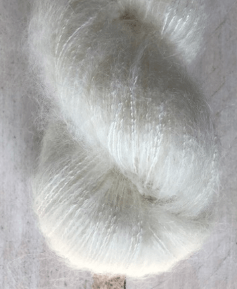 Hand-Dyed Kid Silk Yarn | Hermione NATURE