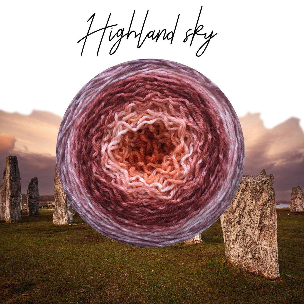 Bis-Sock Metamorph Highland Sky | 100g