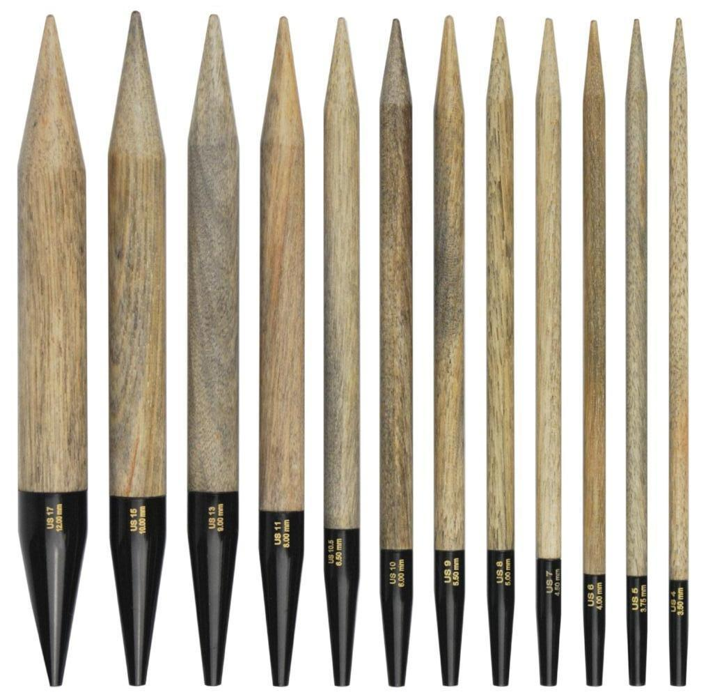 Interchangeable needles LYKKE Driftwood individual 5""