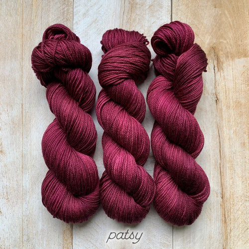 PATSY by Louise Robert Design | DK PURE hand-dyed semi-solid yarn
